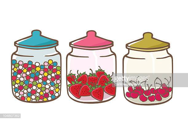 30 Top Sweet Jar Stock Illustrations, Clip art, Cartoons and Icons.