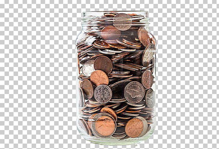 Coin Piggy Bank Jar Saving Money PNG, Clipart, Bank, Box.