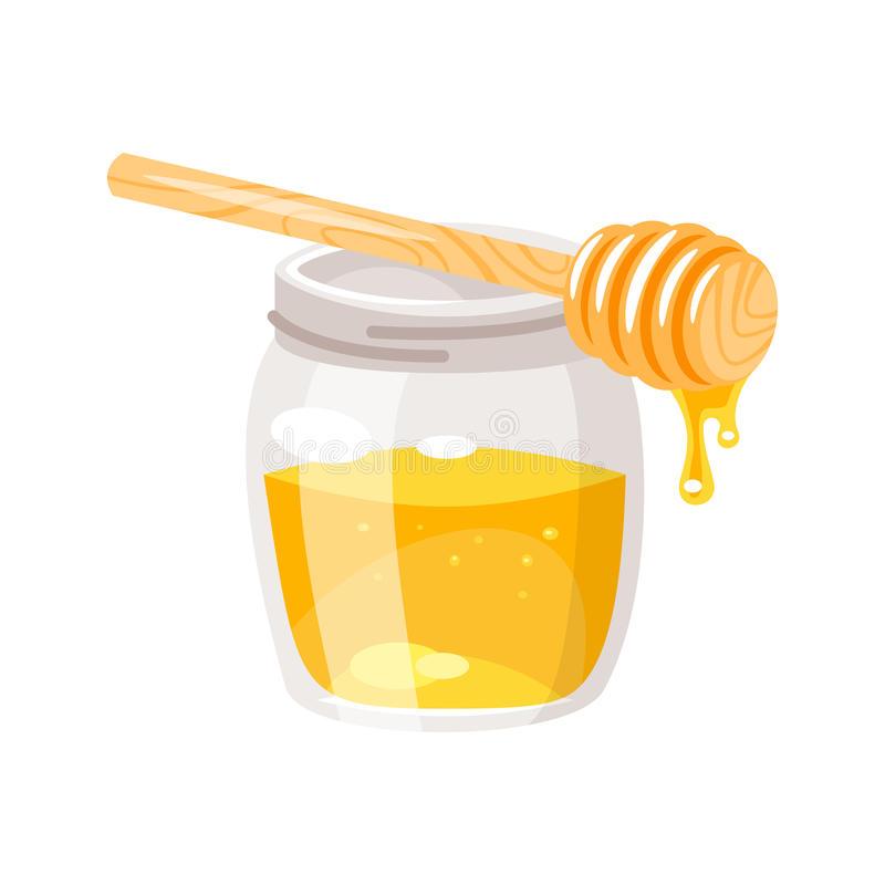 Honey Jar Stock Illustrations.