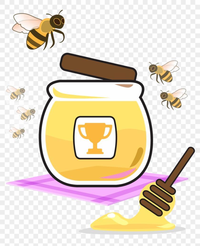 Best HD Honey Jar Clip Art Image » Free Vector Art, Images, Graphics.
