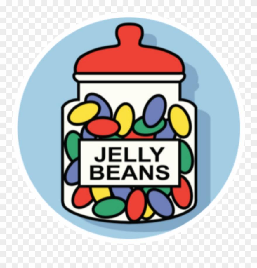 Jelly Bean Jar Clip Art.