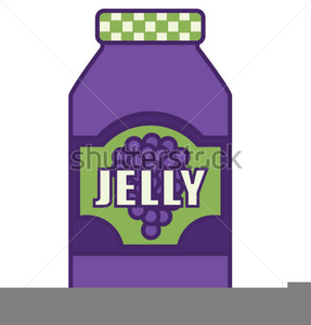 Clipart Of Jelly In Jars.