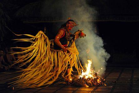 Bali Kecak Dance, Fire Dance and Sanghyang Dance Evening Tour.
