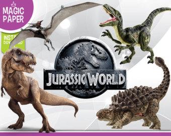 Jurassic world clipart.