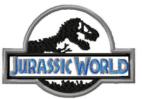 Machine Embroidery Design Jurassic World Applique Instant.
