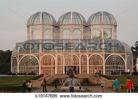 Stock Image of Jardim Botanico Curitiba Brazil k19147695.