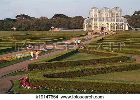 Stock Photo of Jardim Botanico Curitiba Brazil k19147664.