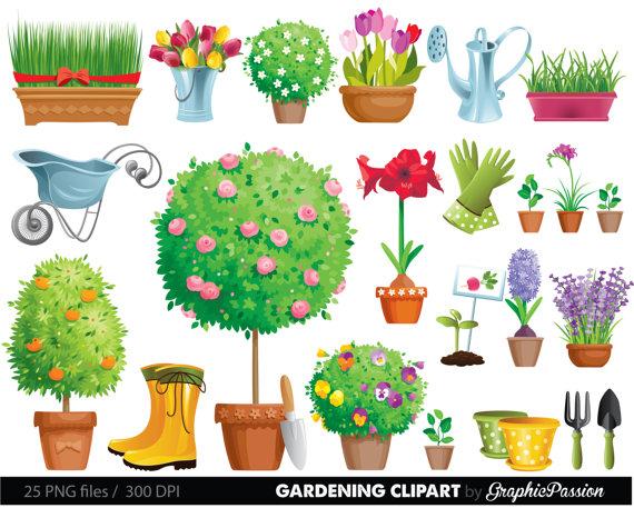 garden clip art #77.
