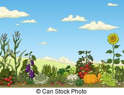 Garden Clipart and Stock Illustrations. 212,559 Garden vector EPS.