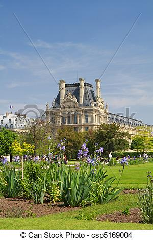 Stock Photo of Jardin du Luxembourg csp5169004.