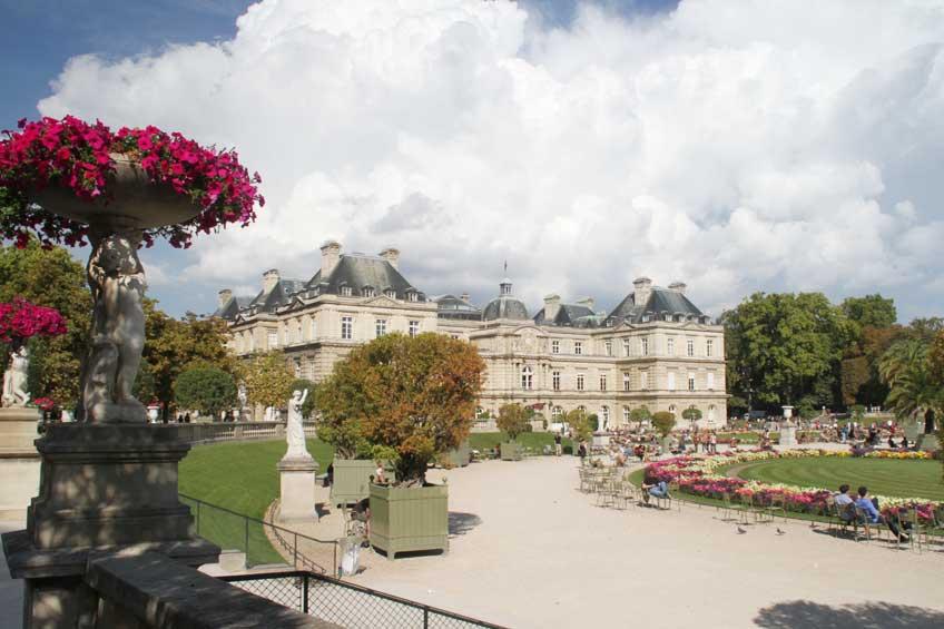 Jardin du Luxembourg.
