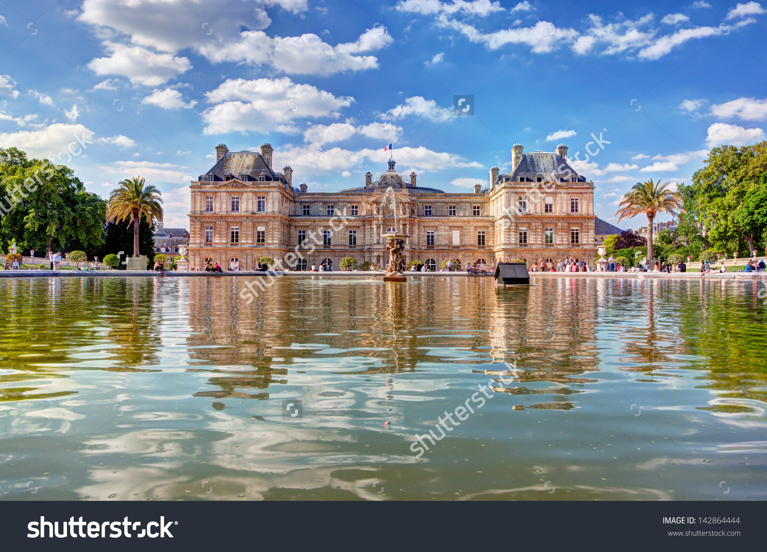 Jardin du luxembourg clipart clipground for Jardin du luxembourg