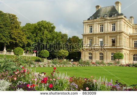 Jardin Du Luxembourg Stock Photos, Royalty.