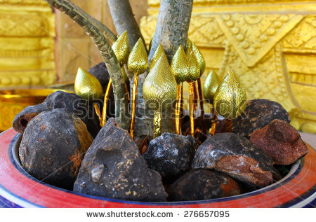 Buddha Statue Vase Stock Photos, Royalty.