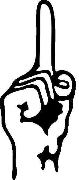 Telunjuk Clip Art at Clker.com.