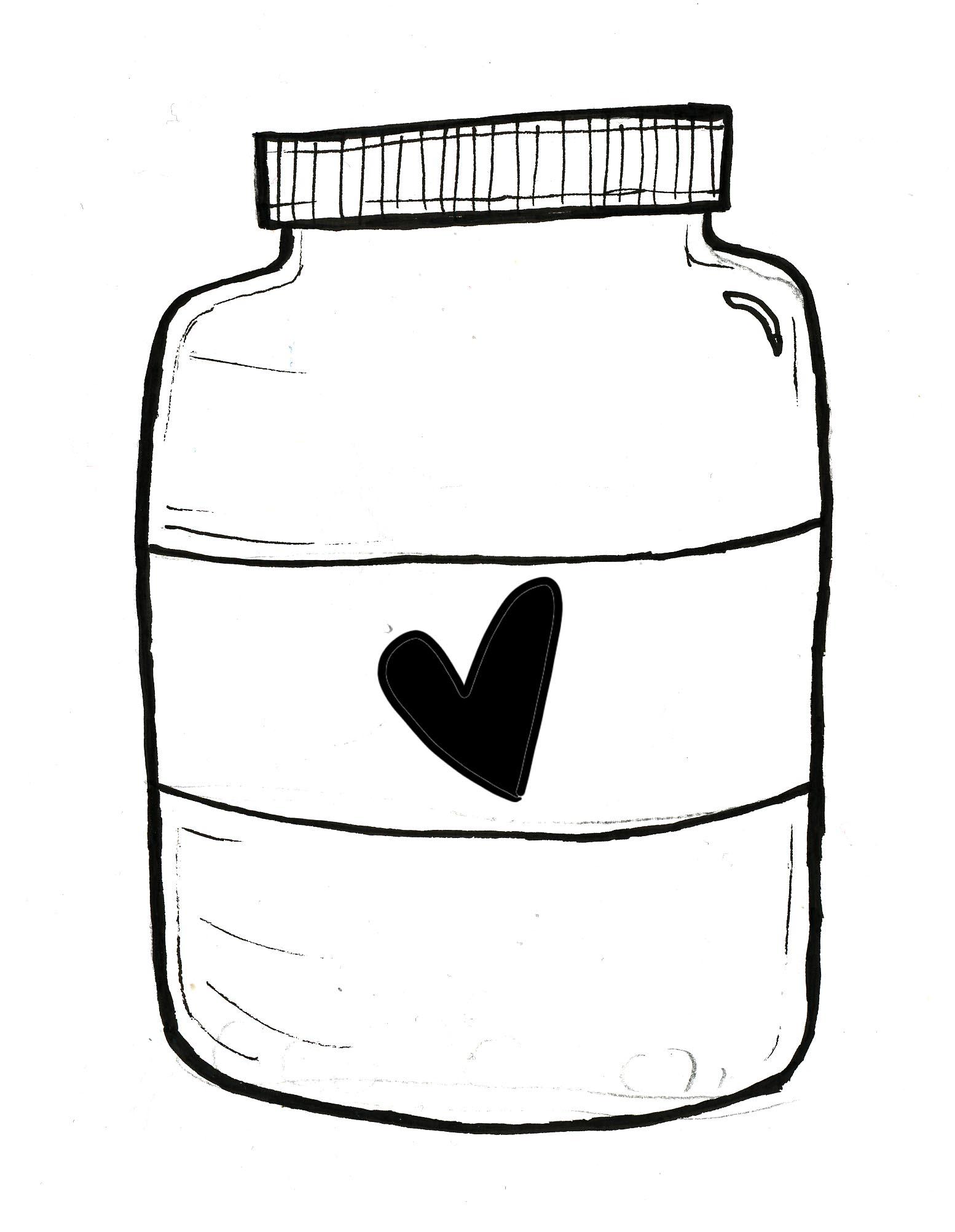 Clip Art Clear Jar Clipart.