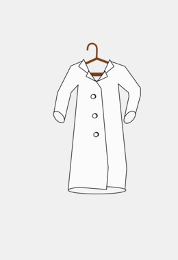Lab Coats Clothing Khalat Online shopping.