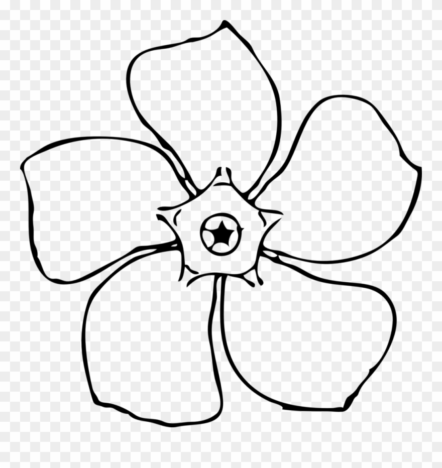 Royalty Free Stock Flower Drawing Template At Getdrawings.