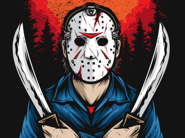Jason vector clipart.