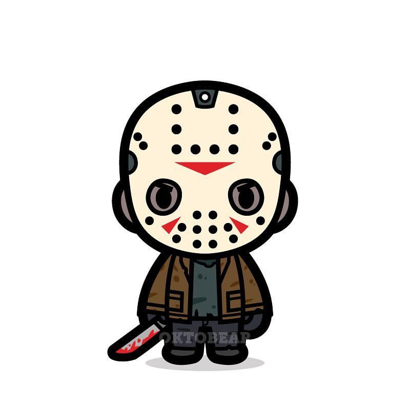 No, it\'s not Friday 13th. It\'s just because I have a Jason.