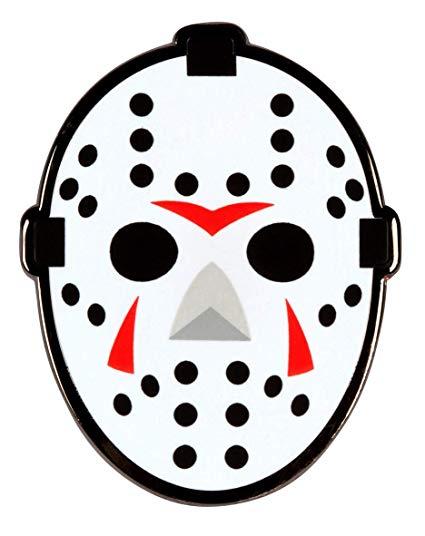 PinAddict Hockey Goalie Mask Lapel Pin Tie Tack Friday the 13th Jason Emblem.