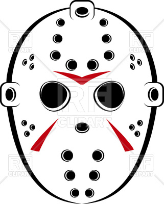 Jason Voorhees Mask Clipart.