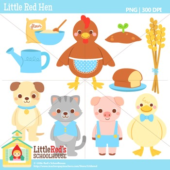 the little red hen clipart - Clipground