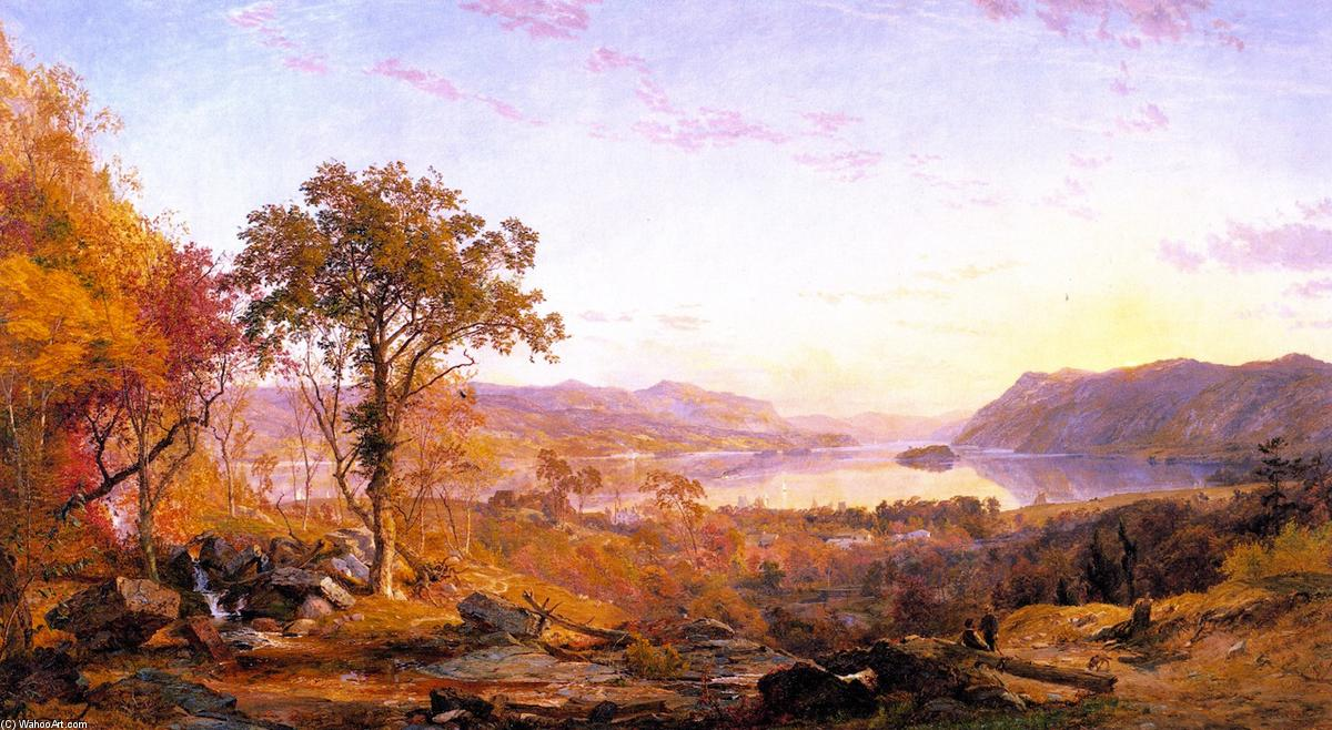 Portfolio Jasper Francis Cropsey. The complete works. (279: Oil On.