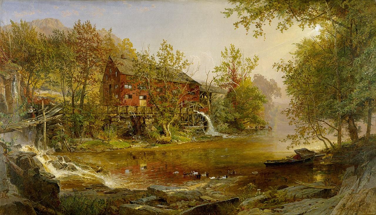 Art History News: JASPER FRANCIS CROPSEY at AUCTION.