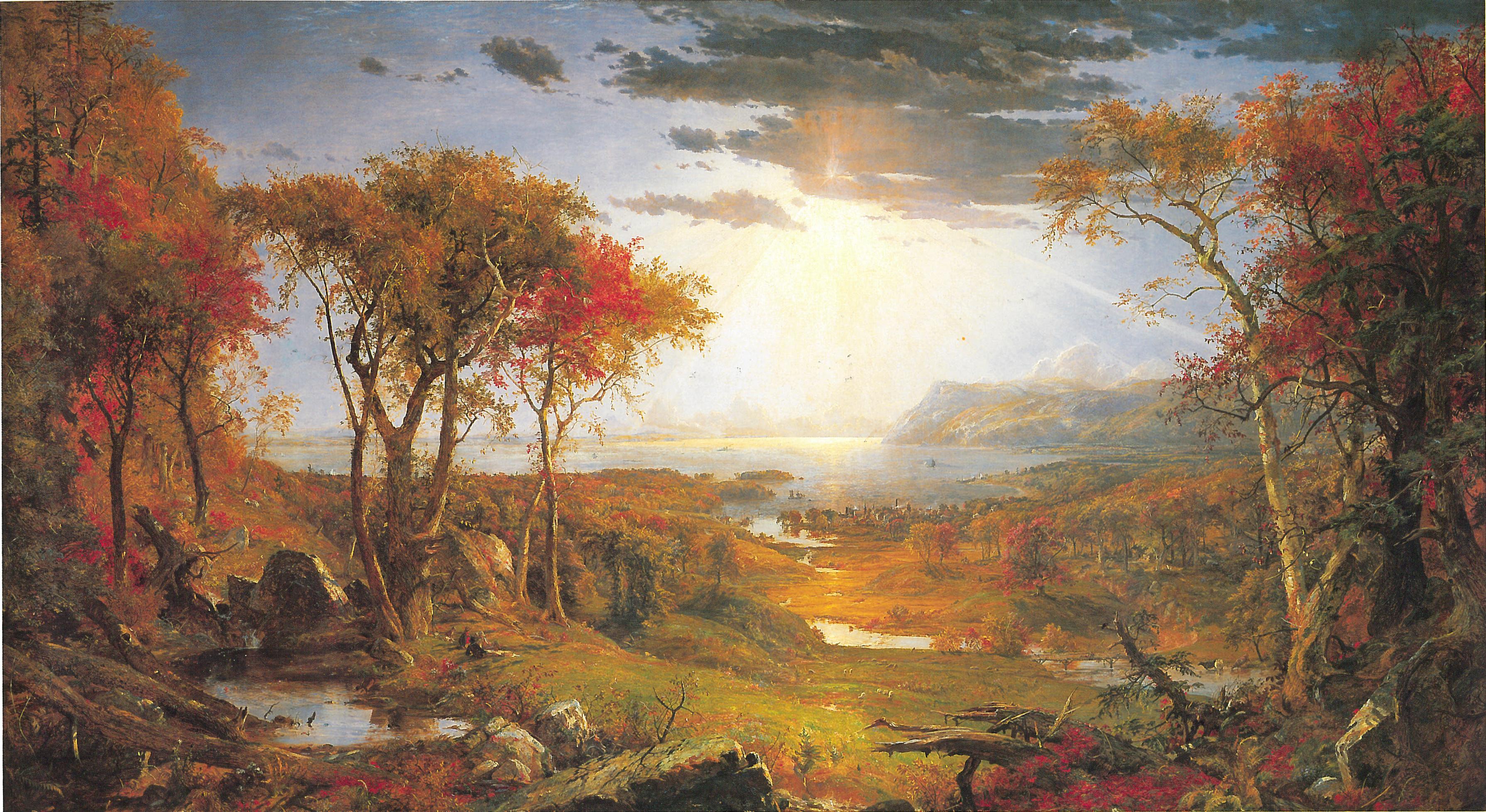 Jasper Francis Cropsey. Autumn.