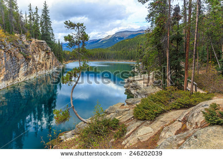 Jasper National Park Stock Photos, Royalty.