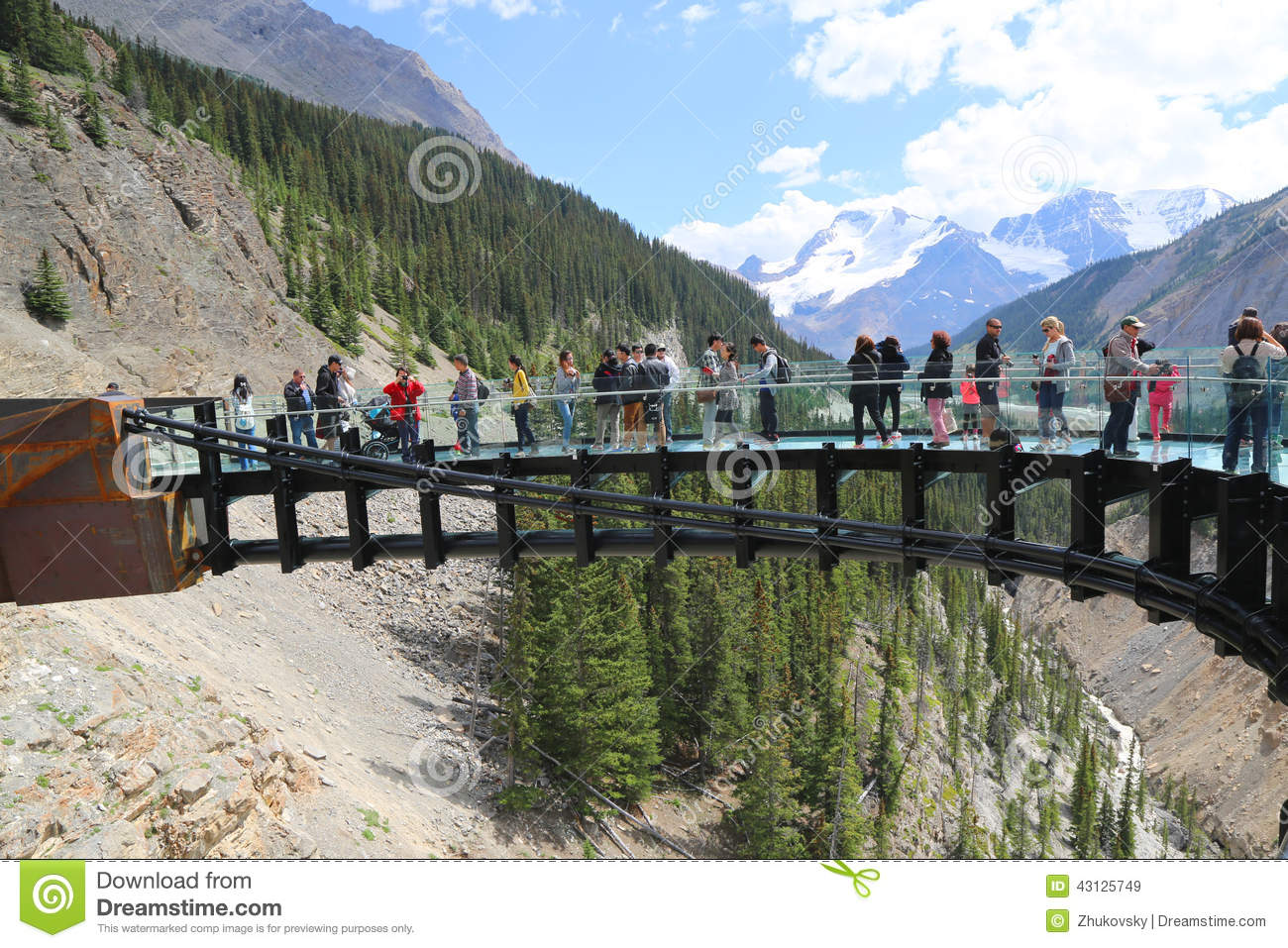 Jasper National Park Editorial Stock Photo.