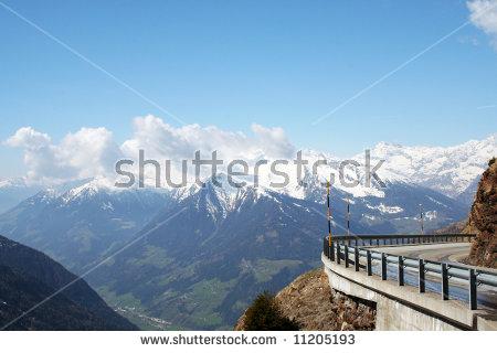 """alpine Road\"" Stock Photos, Royalty."