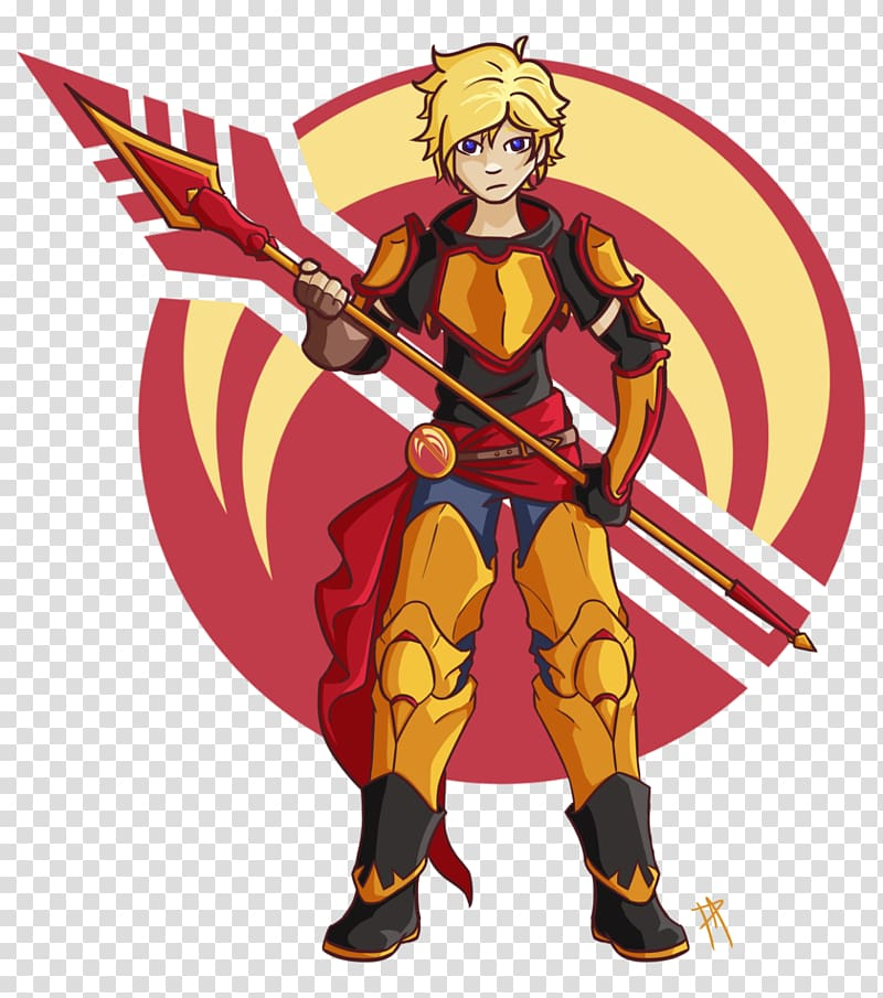 Yang Xiao Long Jaune Arc Pyrrha Nikos Rooster Teeth , arc.