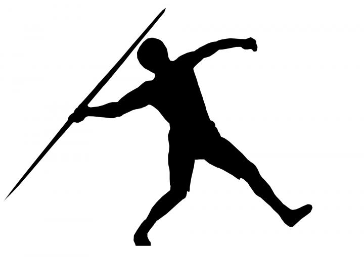 Javelin Throw Clipart.
