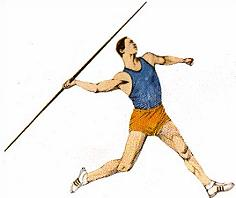 Javelin Spear Clipart.