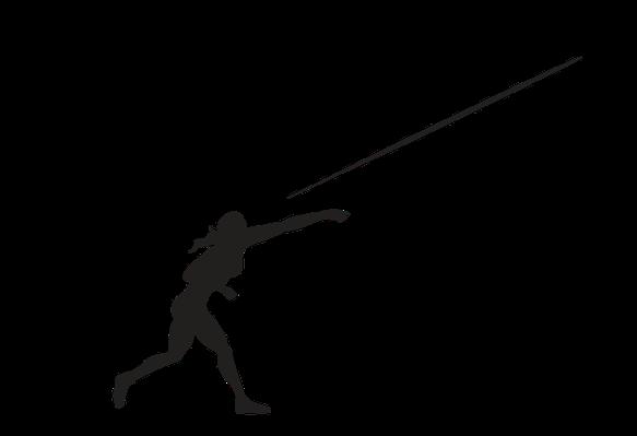 Javelin Clipart.