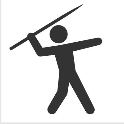 Javelin Spear Clipart.