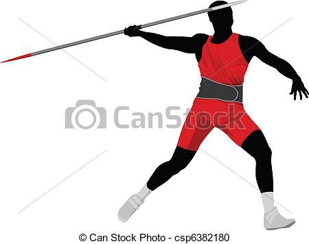 Javelin throw Vector Clip Art EPS Images. 376 Javelin throw.