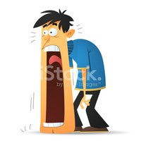 Jaw Dropping Stock Vector.