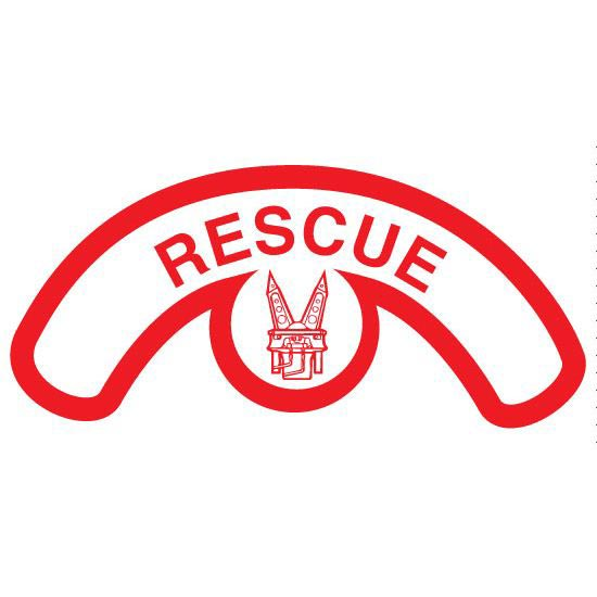 Red Rescue W Jaws Of Life Clipart.