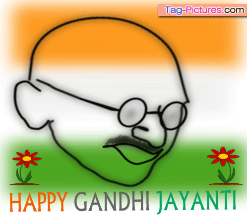 60 Best Happy Gandhi Jayanti 2016 Greeting Pictures And Photos.