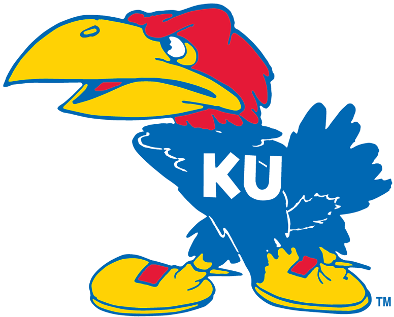 Kansas Jayhawks Primary Logo.