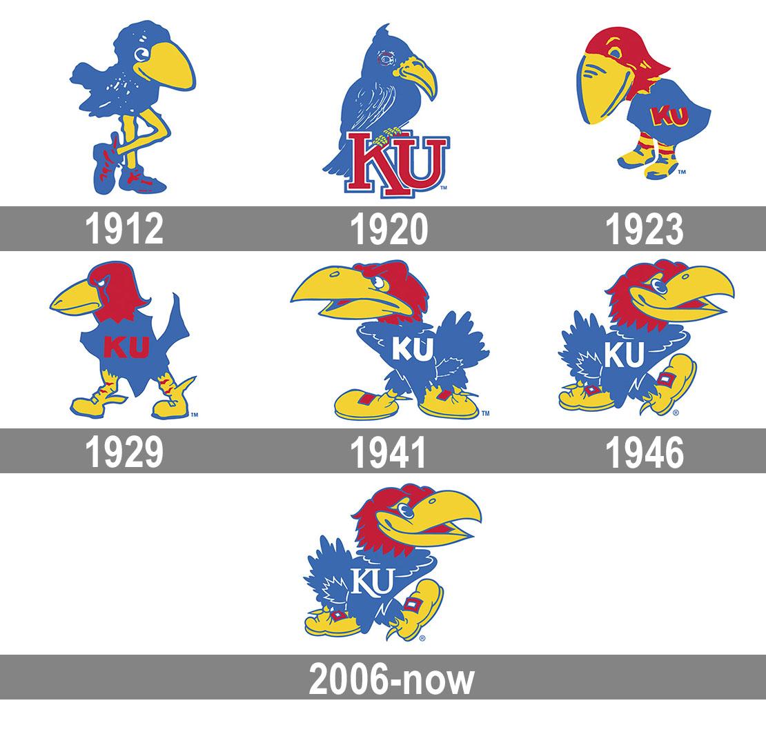 Kansas Jayhawks logo.