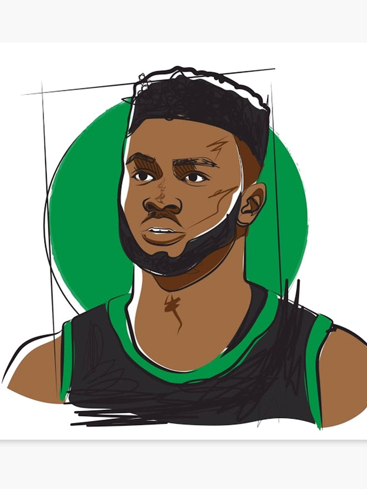 Jaylen Brown Fan Art.