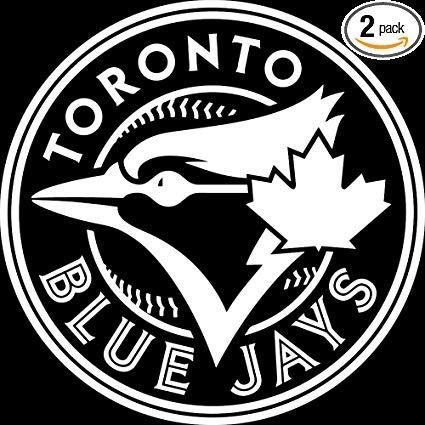 Amazon.com: NBFU DECALS MLB Toronto Blue Jays Logo (White.