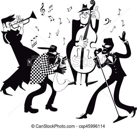 Jazz band clip.