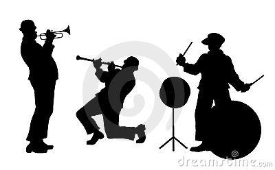 Musicians Stock Photo.