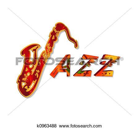 Jazz Illustrations and Clip Art. 4,789 jazz royalty free.