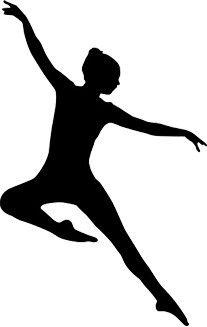 Jazz Dancer silhouette ….